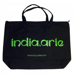 India Arie Black Tote Bag
