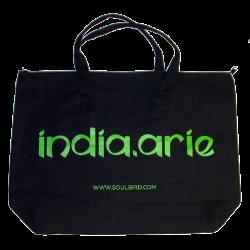 India Arie Black Tote Bag